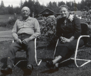Fred and Sarah Kaser - 1952