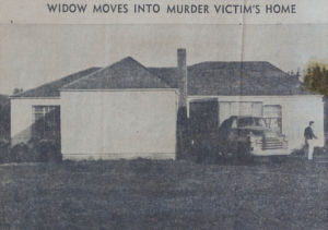 Widow moves into murder victim's home