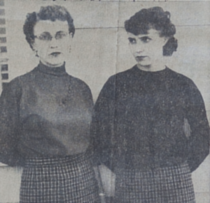 Mary Kaser and daughter Phyllis Boyd