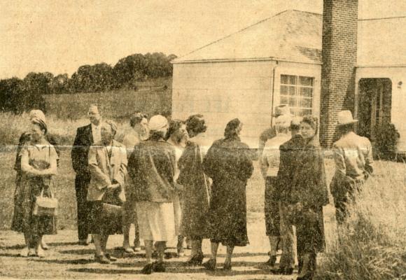 Jury visits the scene